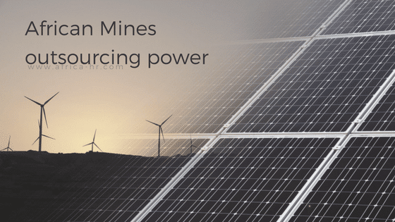 How should African mines outsource power?
